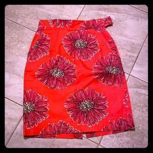 Lily Pulitzer Highwaisted Pencil Skirt